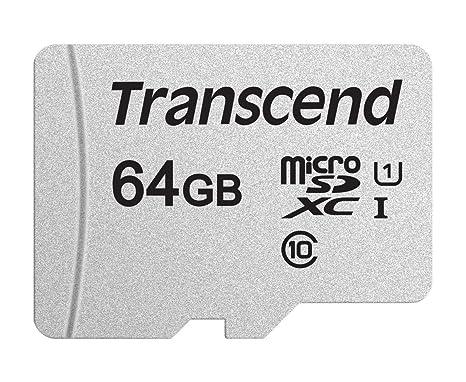 Transcend 64gb Microsdxcsdhc 300s Memory Card Ts64gusd300s