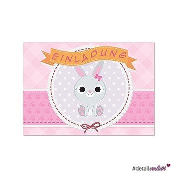 15 Tierisch Süße Einladungskarten Im Praktischen Postkartenformat DIN A6,  Dv_177 U2013 Passend Für