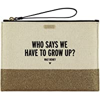 Disney ''Who Says We Have to Grow Up?'' Canvas Glitter Clutch by Kate Spade New York