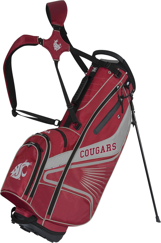 Team Effort Washington State Cougars Gridiron III Stand Bag : Sports & Outdoors