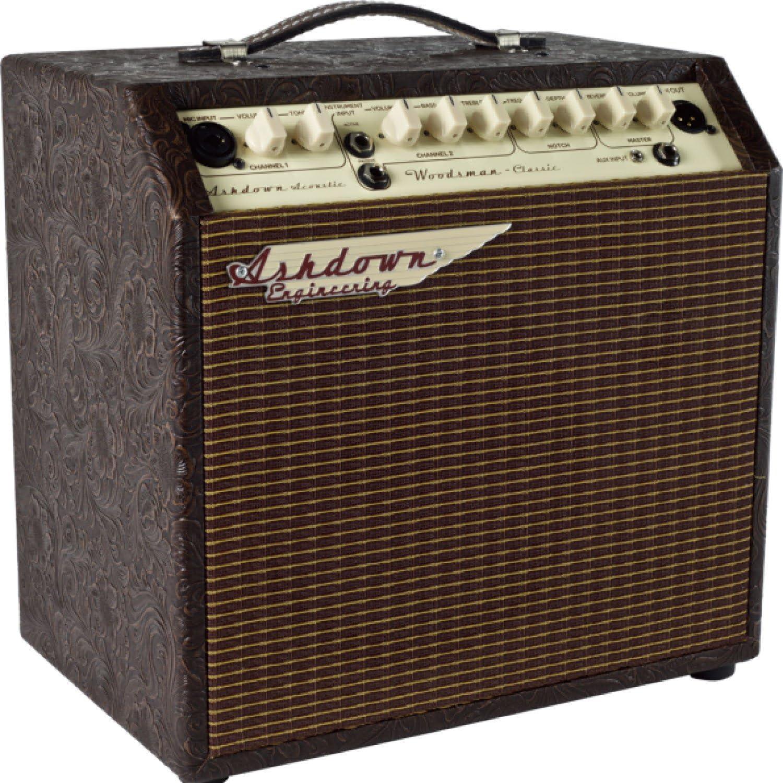 Ashdown woodsman-classic amplificador para guitarra acústica de 40 ...