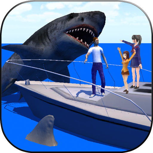 Shark Attack 3D (People Racing)