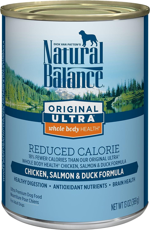 Natural Balance Original Ultra Reduced Calorie Chicken, Salmon Duck Wet Dog Food