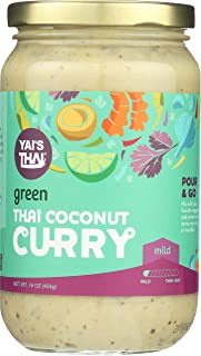product image for Yai's Thai Green Coconut Curry Sauce 16 Ounce