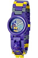 LEGO Batman Movie 8020844 Batgirl Kids Minifigure Link Buildable Watch | purple/yelow | plastic | 28mm case diameter| analog quartz | boy girl | official