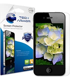 Tech Armor High Definition HD-Clear Film Screen Protector (Not Glass) for Apple