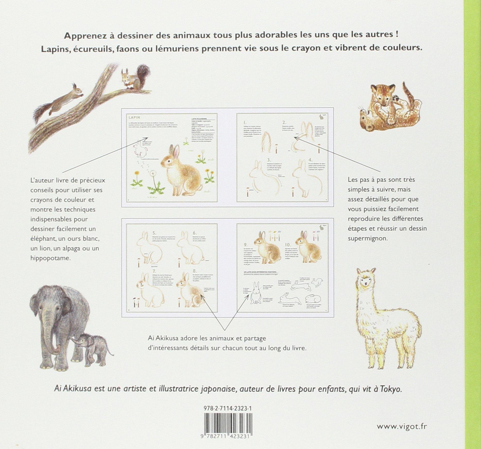 Amazon Fr Dessiner Des Animaux Supermignons En Couleur Ai