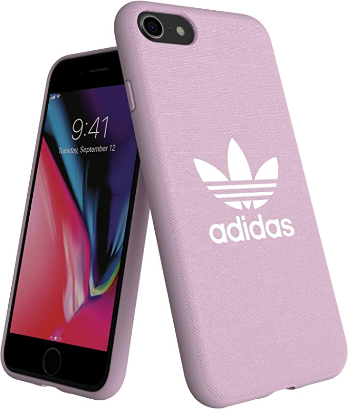 texto lobo O  adidas Originals Adicolor Moulded Case Pink for iPhone 8/7/6S/6:  Amazon.co.uk: Electronics