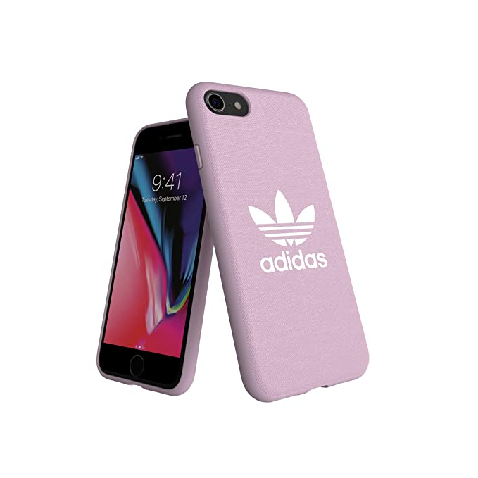 separation shoes 605b8 cf670 adidas Originals Moulded Case Canvas for iPhone 6/6S/7/8 - Clear Pink