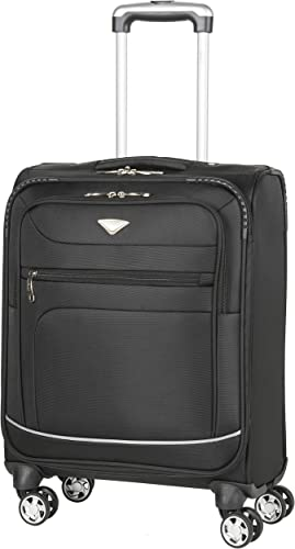 Flight Knight Lightweight 8 Wheel 840D Soft Case Suitcases Maximum Size For Emirate