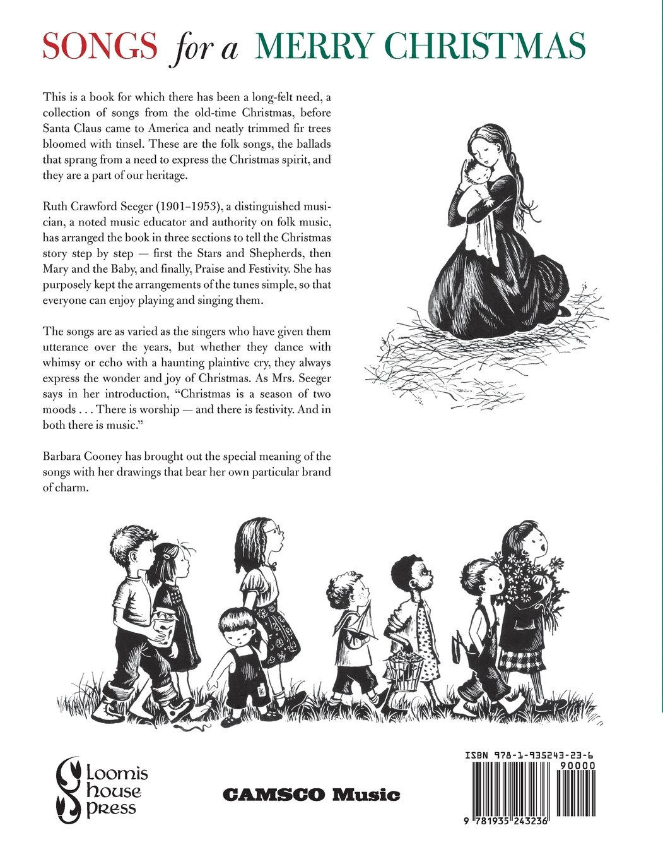 american folk songs for christmas ruth crawford seeger barbara cooney 9781935243236 amazoncom books - Christmas Praise Dance