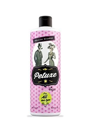 Petuxe Champú vegano para perros y mascotas, todo tipo de pelo, 500 ml: Amazon.es: Productos para mascotas