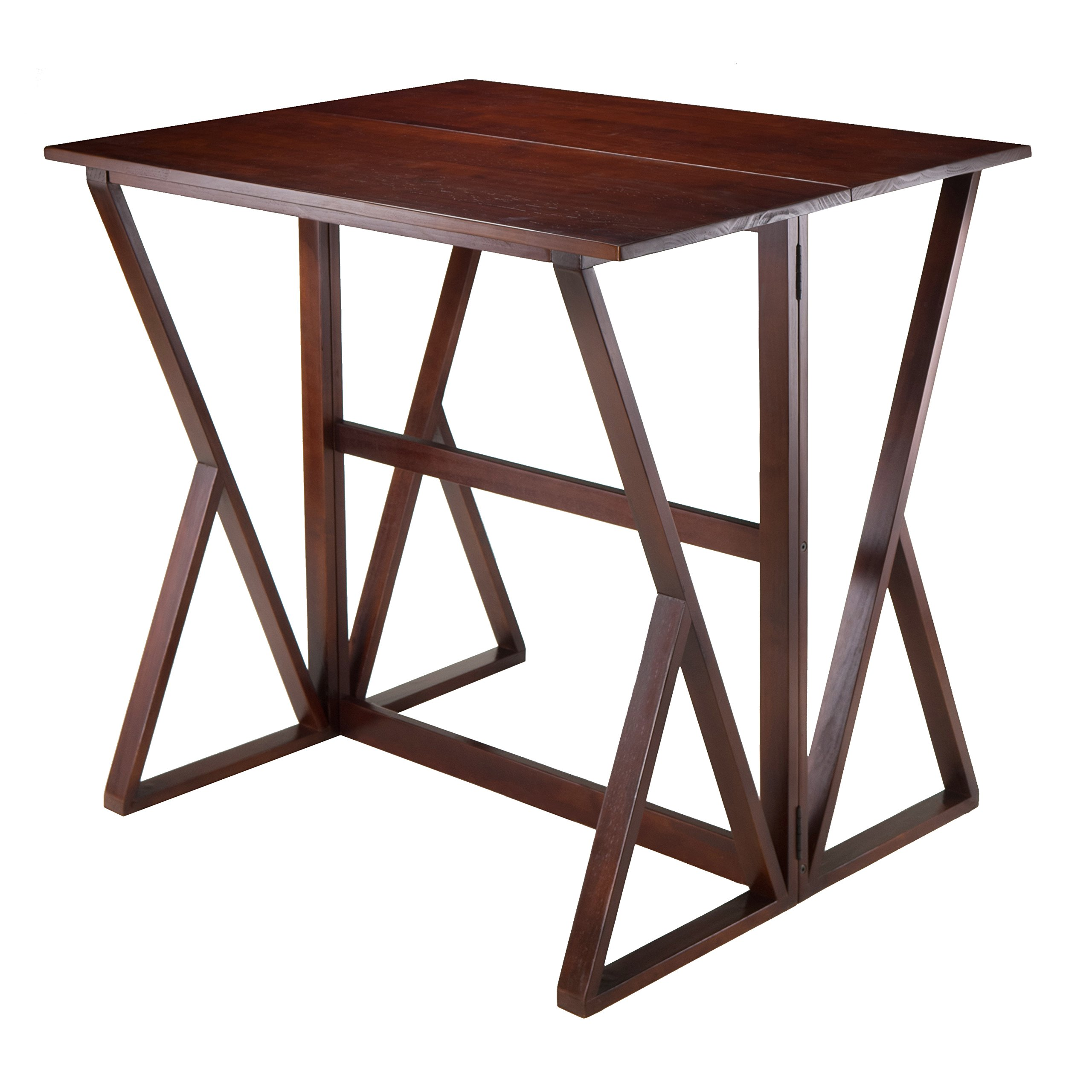 Winsome Wood Harrington Drop Leaf High Table by Winsome Wood