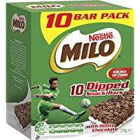 Milo Snack Bar - Dipped in White Chocolate, 10-Pack, 270g