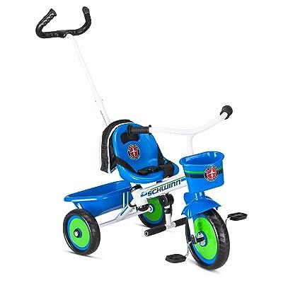 Schwinn Roadster Kids Tricycle, Easy Steer Tricycle, Blue : Sports & Outdoors