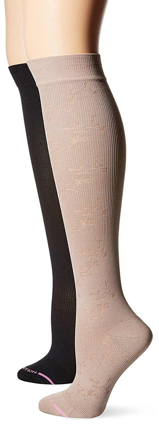 Women's Compression Socks By Dr.Motion 2-Pair Pack Set Dr. Motion AL2P3333