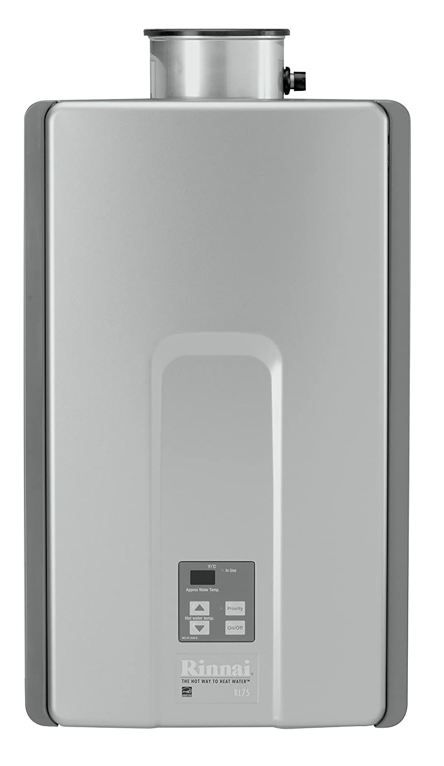 #3 Tankless Gas Water Heater -  Rinnai RL 75iN