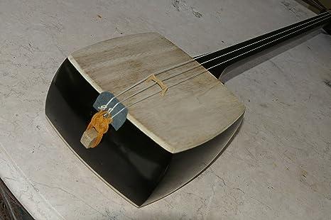 Tradicional 3 cuerdas chino sanxian Shamisen guitarra – -Chino ...