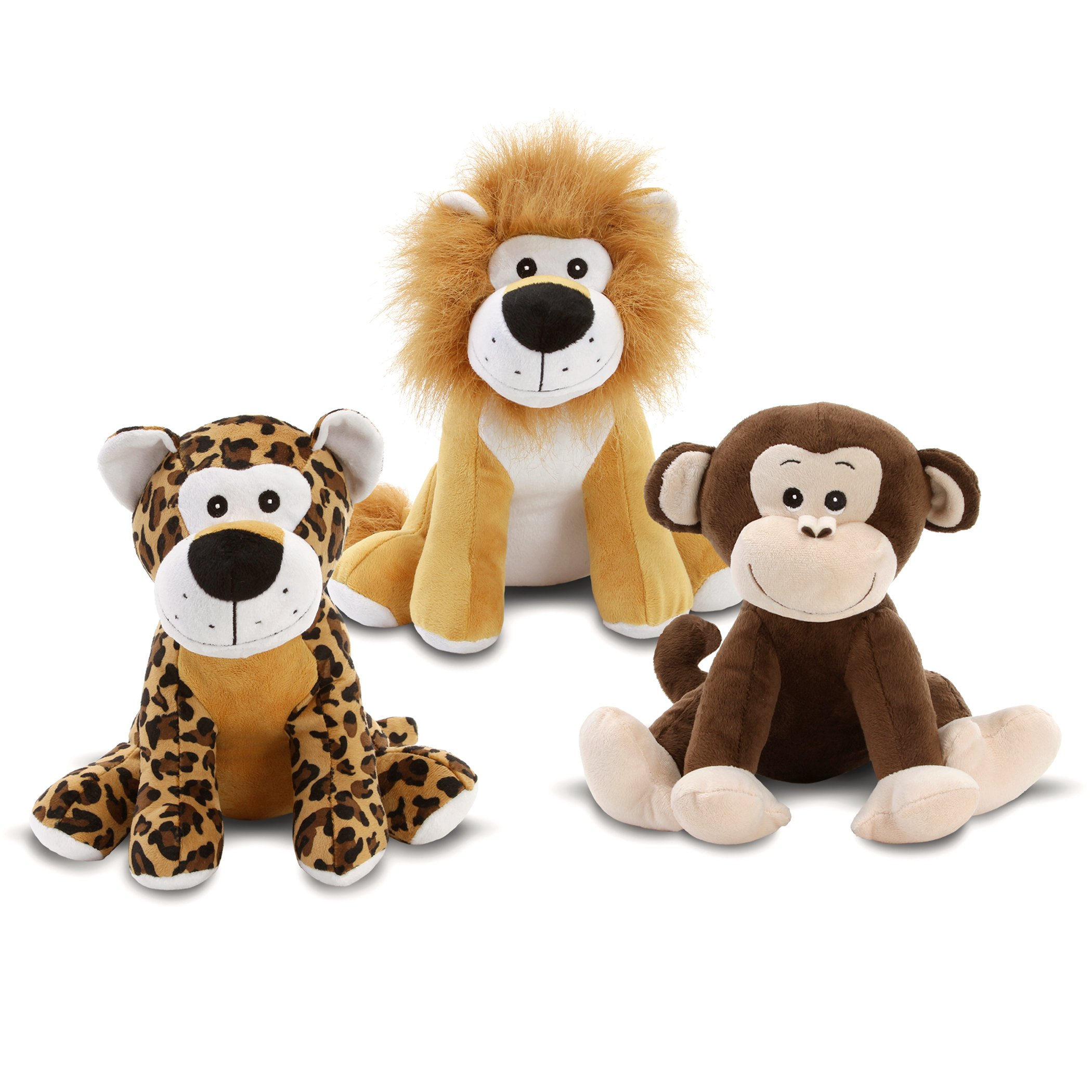 Gift Delight Jungle Pals Plush (Set of 3) by Gift Delight