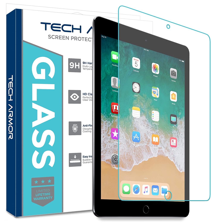 "Tech Armor Ballistic Glass Screen Protector for Apple iPad Pro 12.9/"" 2018"