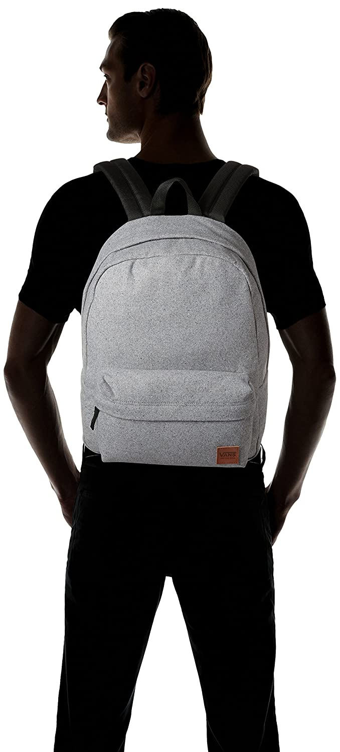 32bacfe6c8052 Vans Deana III Backpack Casual Daypack, 42 cm, 22 Liters, Light Grey  Heather: Amazon.co.uk: Luggage