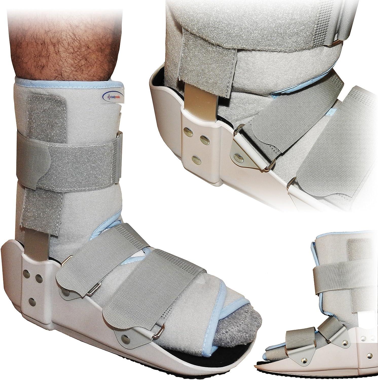 TalarMade NHS - Soporte para tobillo de pie inferior fijo de grado médico, aprobado por la NHS