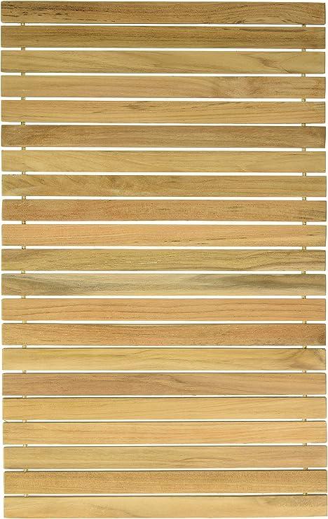 Desnudo Decor Asi auténtica madera de teca Flexible tablero de la ...