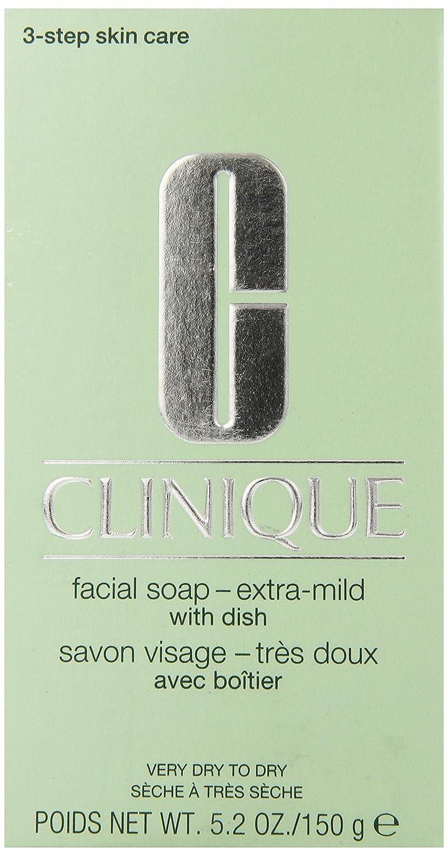Clinique Facial Soap - 150 g, Dish Extra Mild 78306 Facial Soap Extra-Mild CLICOSC609F