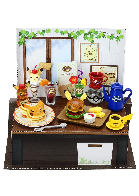 Re-ment Pokemon Miniature Pikachu Komorebi Cafe 8 Set Japan