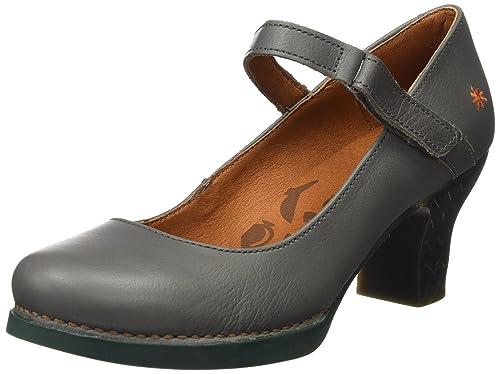 Harlem, Zapatos de Tacón para Mujer, Morado (Memphis Cerise-Black 933), 37 EU Art