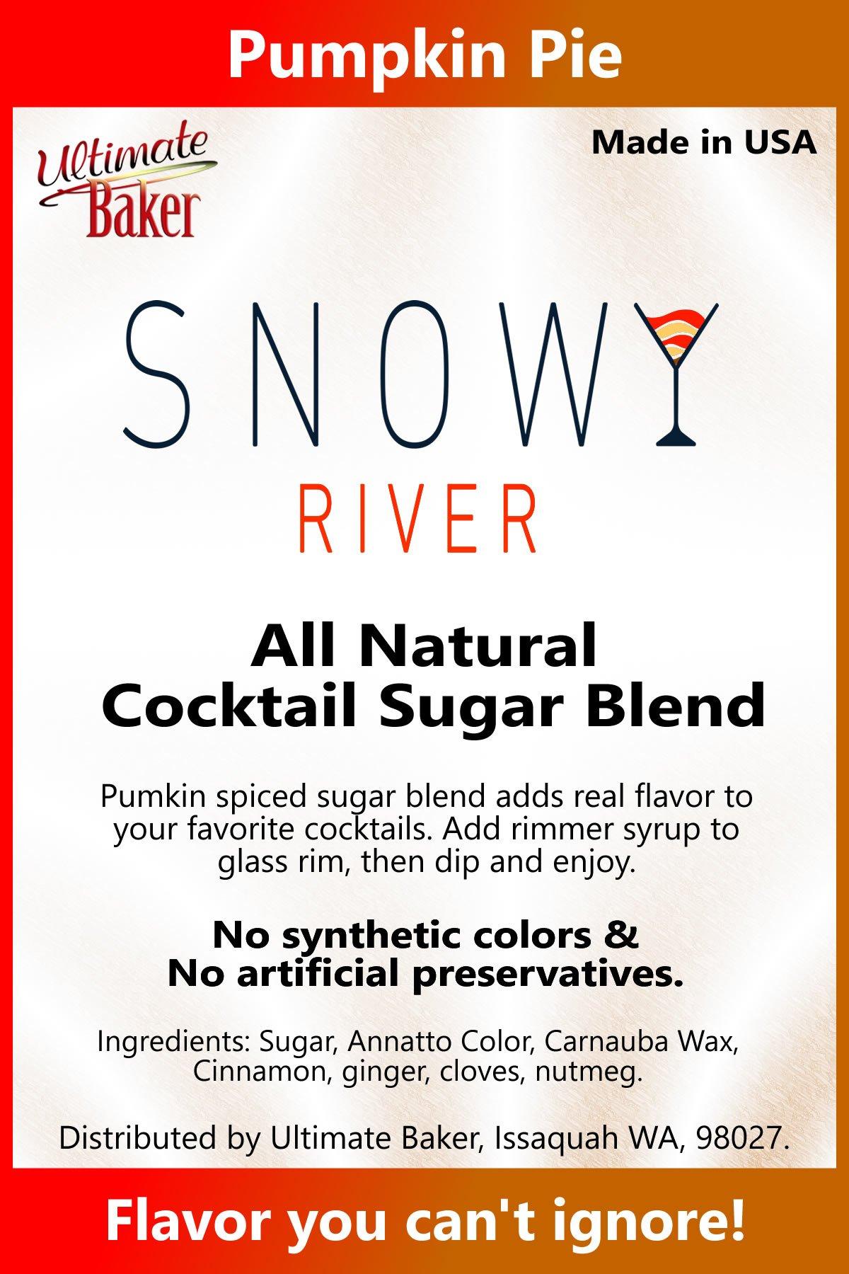 Snowy River Cocktail Sugar Pumpkin Pie mix (1x5lb)