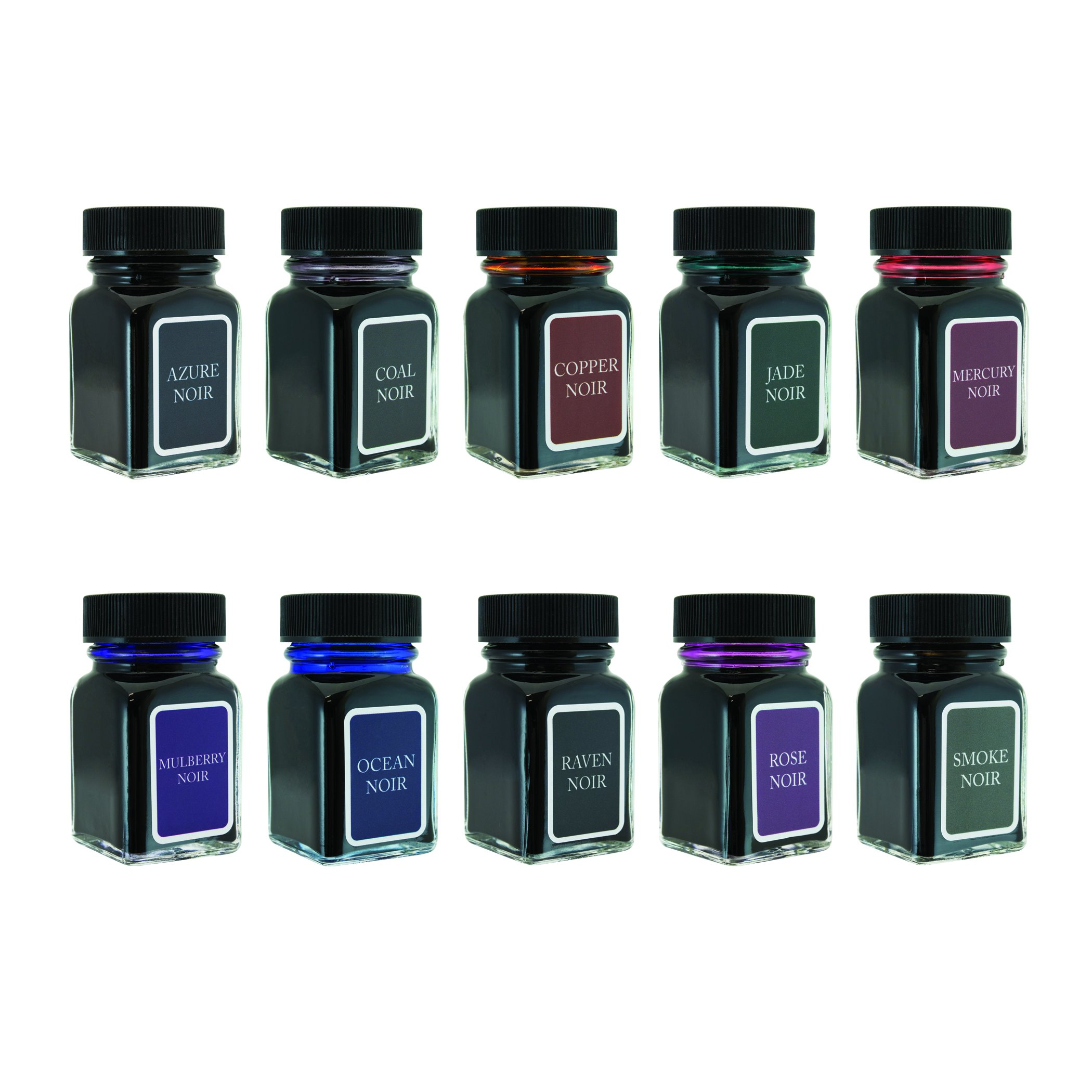 MONTEVERDE Noir Ink Collection Gift Set Fountain Pen Refill, Various Colors (MV12374) by Monteverde (Image #3)