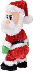 Muñeco de Papá Noel Que Baila Estilo Twerking, de lux.pro, con música