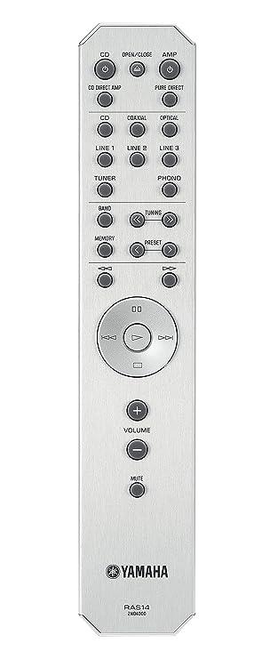 Yamaha AS-701 - Amplificador integrado (160 W, estéreo, entrada digital), negro: Amazon.es: Electrónica