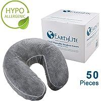Earthlite - Funda para reposacabezas desechable (50 unidades)
