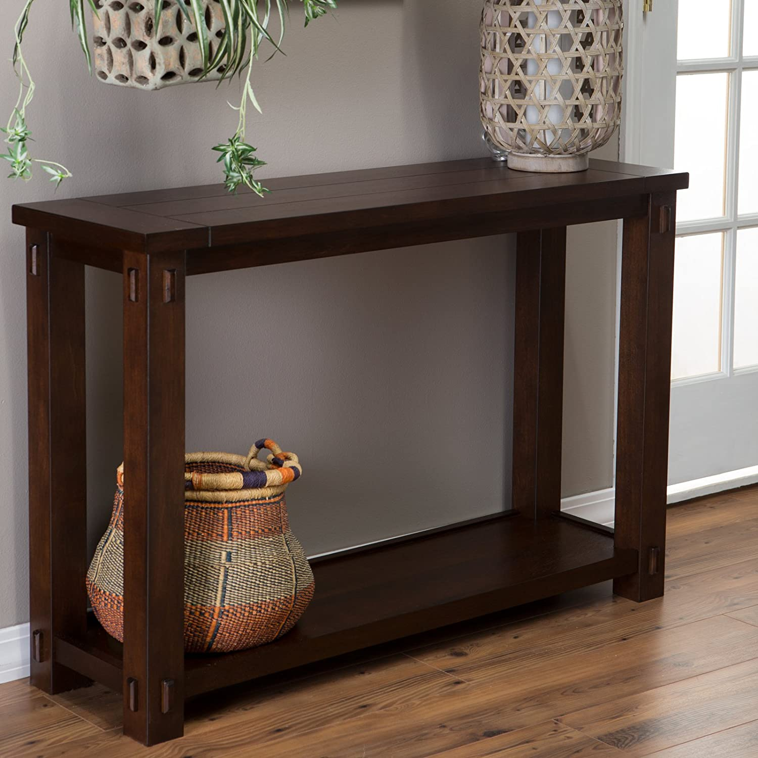 Amazon Belham Living Bartlett Console Table Kitchen & Dining