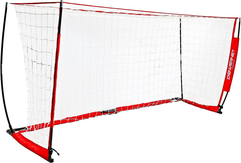 réseau électrique Soccer Goal 3,7x 1,8m Portable Nœud Style Net