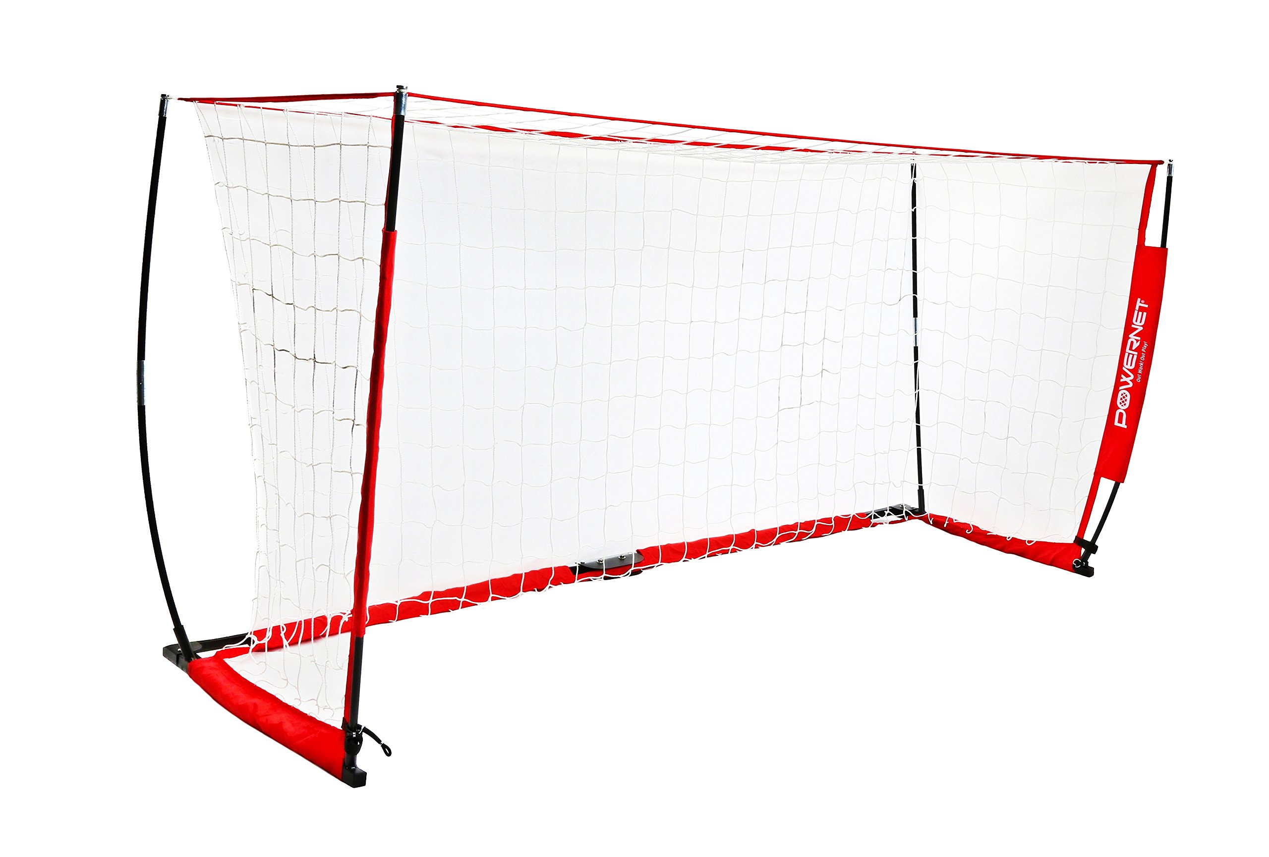 PowerNet Soccer Goal 14x7 Portable Bow Style Net by PowerNet