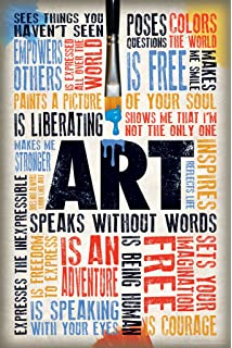 amazon com elements of art principles of design art poster 5 x
