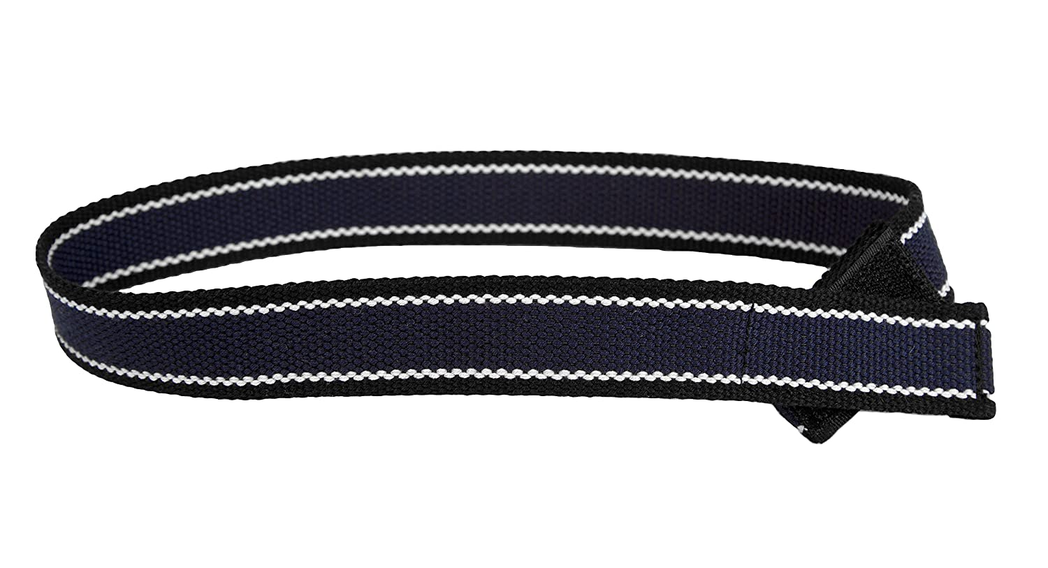 Myself Belts- Easy Belt with One Handed Closure for Little Boys Navy/Black Webbing