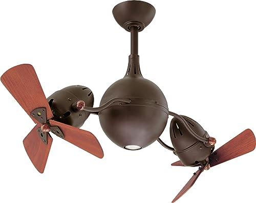 Matthews AQ-TB-WD Acqua 39″ Dual Rotational Outdoor Ceiling Fan