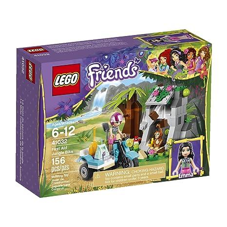 Amazon.com: LEGO Friends First Aid Jungle Bike 41032 Building Set ...