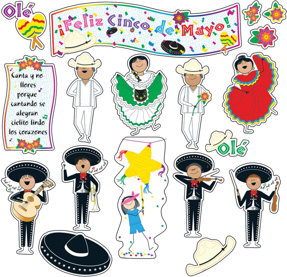 Creative Teaching Press Cinco de Mayo Mini Bulletin Board Set (1150)