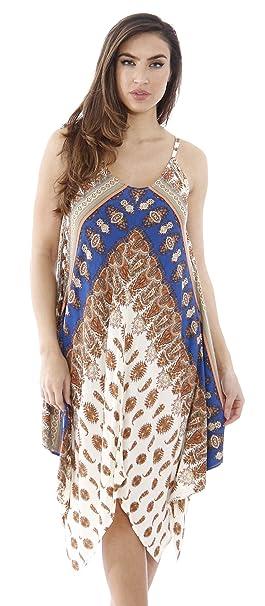 fc1f369e35e Just Love Handkerchief Hem Summer Dresses at Amazon Women s Clothing ...