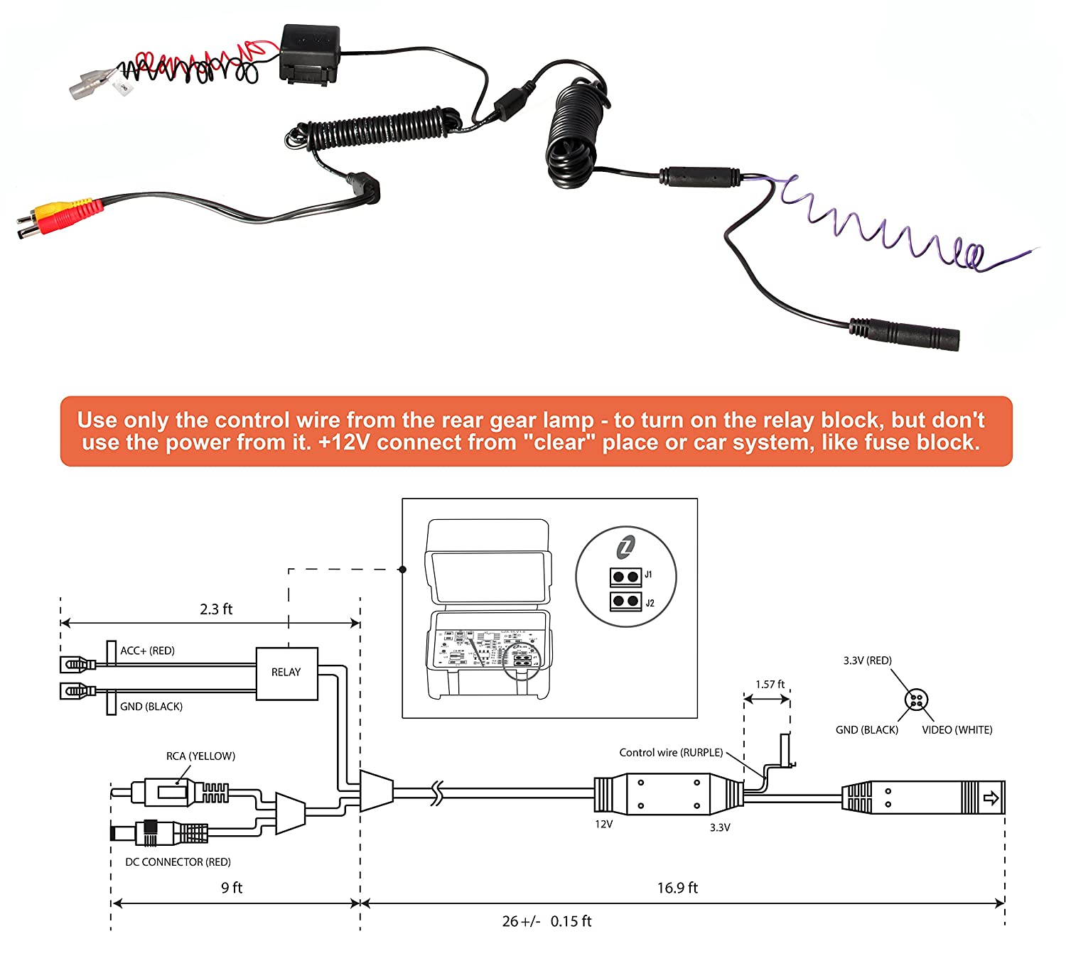 pioneer reverse camera wiring diagram   37 wiring diagram