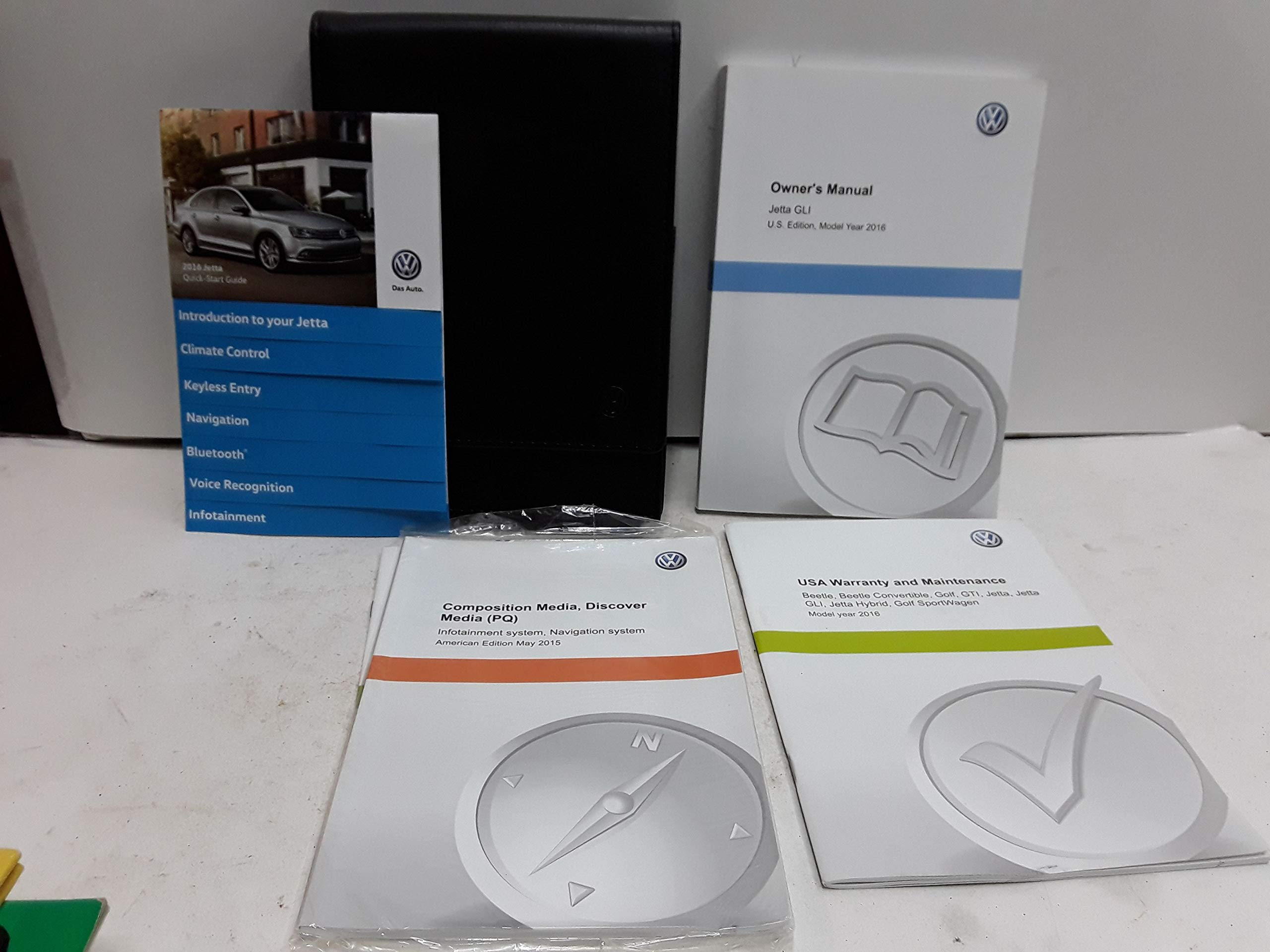 2016 Volkswagen Jetta Owners Manual OEM Free Shipping Other Car ...