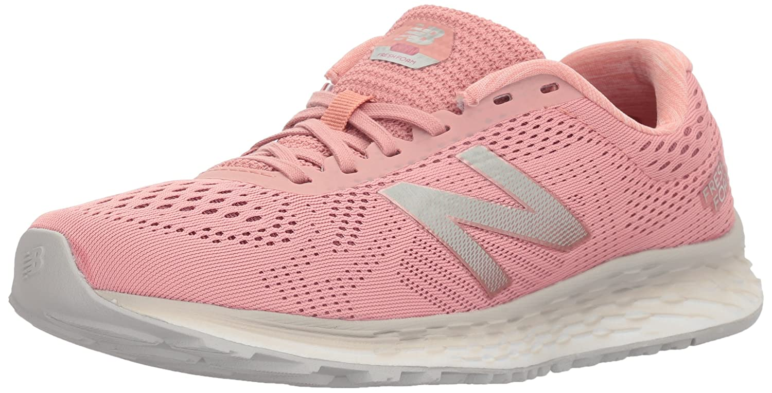 New Balance Women's Fresh Foam Arishi V1 Running Shoe B06XRSVSRJ 11 D US|Dusted Peach/Vortex