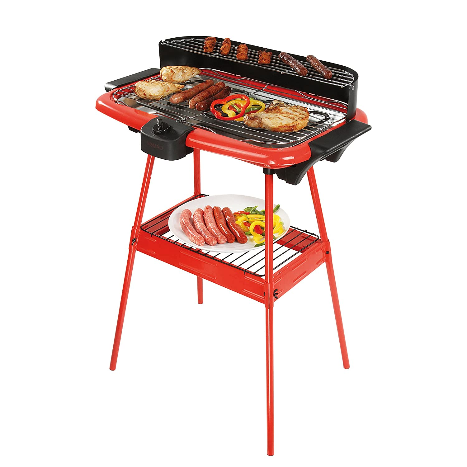 Be Nomad dom297r Standgrill, rot/schwarz BE NOMAD (BEOCK)