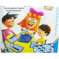Art Box Roller Housie Tambola Family Game Bingo Tambola Housie Indoor Game with 48 Reusable Plastic Tickets