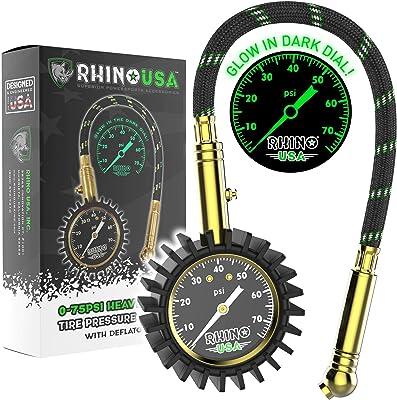 Rhino USA Tire Pressure Gauge